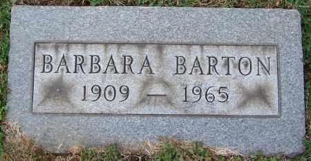 BARTON, BARBARA - Stark County, Ohio | BARBARA BARTON - Ohio Gravestone Photos