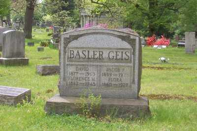 GEIS, FLORA - Stark County, Ohio   FLORA GEIS - Ohio Gravestone Photos