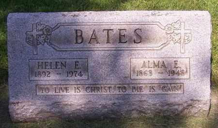 BATES, HELEN E. - Stark County, Ohio   HELEN E. BATES - Ohio Gravestone Photos