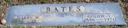 BATES, GOLDIE T. - Stark County, Ohio | GOLDIE T. BATES - Ohio Gravestone Photos