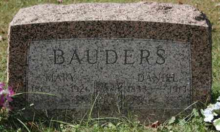 BAUDERS, MARY - Stark County, Ohio | MARY BAUDERS - Ohio Gravestone Photos
