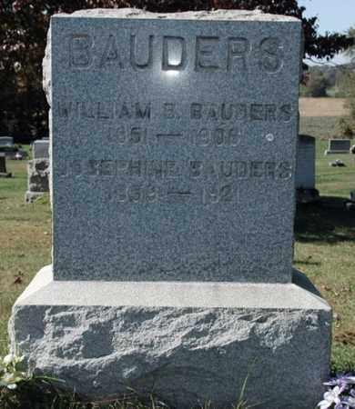 BAUDERS, WILLIAM B.. - Stark County, Ohio | WILLIAM B.. BAUDERS - Ohio Gravestone Photos