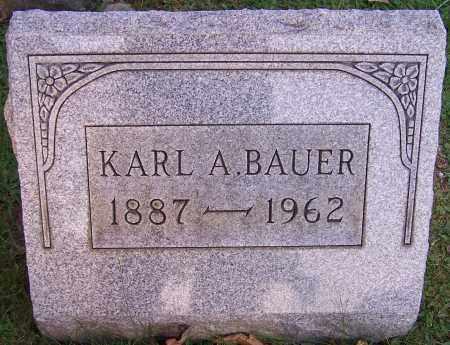 BAUER, KARL A. - Stark County, Ohio | KARL A. BAUER - Ohio Gravestone Photos