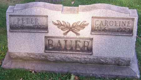BAUER, CAROLINE - Stark County, Ohio   CAROLINE BAUER - Ohio Gravestone Photos
