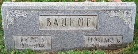 BAUHOF, FLORENCE G. - Stark County, Ohio | FLORENCE G. BAUHOF - Ohio Gravestone Photos