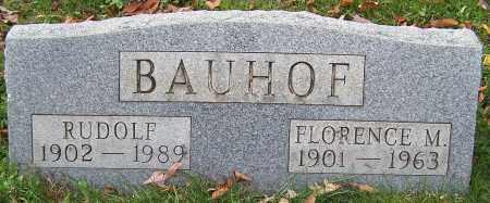 BAUHOF, RUDOLF - Stark County, Ohio   RUDOLF BAUHOF - Ohio Gravestone Photos