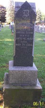 BAUM, CHRISTINA - Stark County, Ohio | CHRISTINA BAUM - Ohio Gravestone Photos
