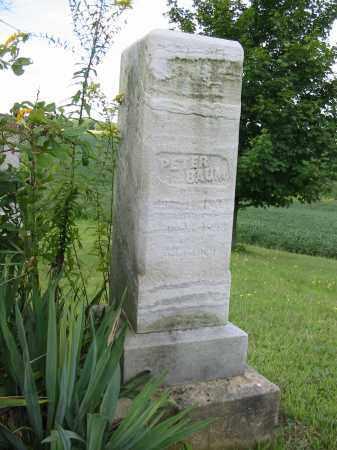 BAUM, PETER - Stark County, Ohio | PETER BAUM - Ohio Gravestone Photos