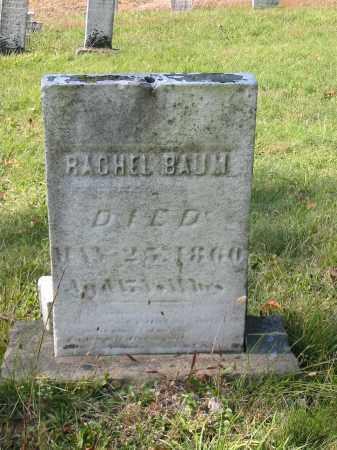 BAUM, RACHEL - Stark County, Ohio   RACHEL BAUM - Ohio Gravestone Photos