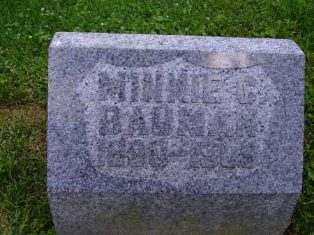BAUMAN, MINNIE G. - Stark County, Ohio | MINNIE G. BAUMAN - Ohio Gravestone Photos