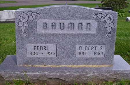 BAUMAN, ALBERT S. - Stark County, Ohio | ALBERT S. BAUMAN - Ohio Gravestone Photos