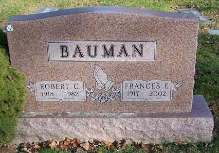BAUMAN, ROBERT C. - Stark County, Ohio | ROBERT C. BAUMAN - Ohio Gravestone Photos