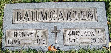BAUMGARTEN, AUGUSTA L. - Stark County, Ohio | AUGUSTA L. BAUMGARTEN - Ohio Gravestone Photos