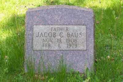 BAUS, JACOB C. - Stark County, Ohio | JACOB C. BAUS - Ohio Gravestone Photos