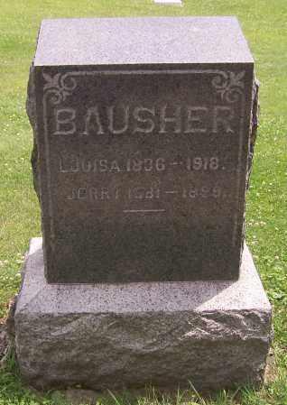 WOLF BAUSHER, LOUISA - Stark County, Ohio | LOUISA WOLF BAUSHER - Ohio Gravestone Photos