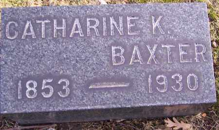 BAXTER, CATHARINE K. - Stark County, Ohio | CATHARINE K. BAXTER - Ohio Gravestone Photos