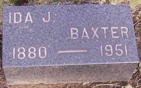 BAXTER, IDA J. - Stark County, Ohio   IDA J. BAXTER - Ohio Gravestone Photos