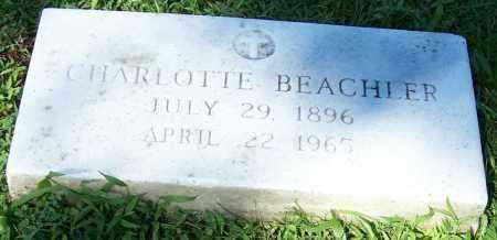 BEACHLER, CHARLOTTE - Stark County, Ohio | CHARLOTTE BEACHLER - Ohio Gravestone Photos