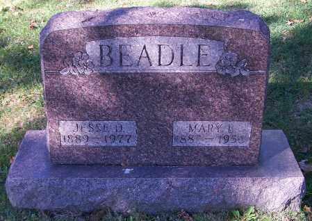 BEADLE, MARY L. - Stark County, Ohio | MARY L. BEADLE - Ohio Gravestone Photos