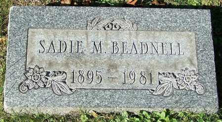 BEADNELL, SADIE M. - Stark County, Ohio   SADIE M. BEADNELL - Ohio Gravestone Photos