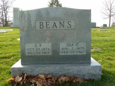 BEANS, IDA C - Stark County, Ohio | IDA C BEANS - Ohio Gravestone Photos