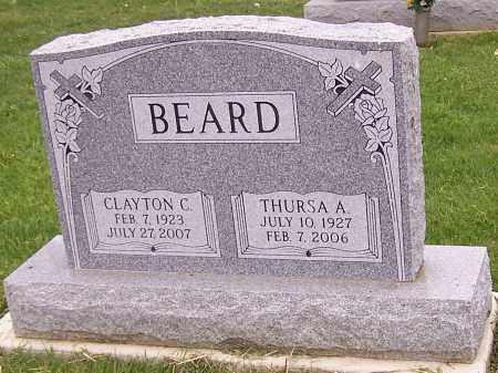 BEARD, THURSA A. - Stark County, Ohio   THURSA A. BEARD - Ohio Gravestone Photos