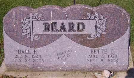 BEARD, BETTE E. - Stark County, Ohio | BETTE E. BEARD - Ohio Gravestone Photos