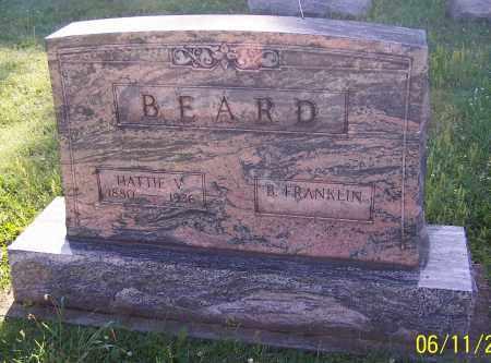 SCHROPPE BEARD, HATTIE V. - Stark County, Ohio | HATTIE V. SCHROPPE BEARD - Ohio Gravestone Photos