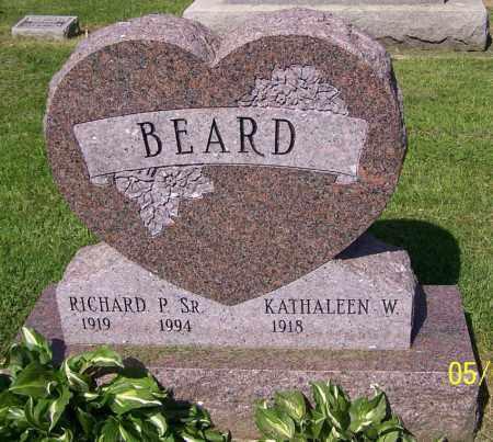 BEARD, KATHALEEN W. - Stark County, Ohio   KATHALEEN W. BEARD - Ohio Gravestone Photos