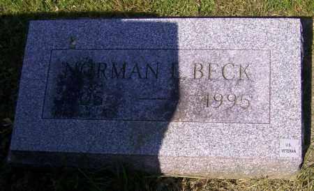 BECK, NORMAN L. - Stark County, Ohio | NORMAN L. BECK - Ohio Gravestone Photos