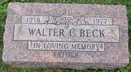 BECK, WALTER C. - Stark County, Ohio | WALTER C. BECK - Ohio Gravestone Photos