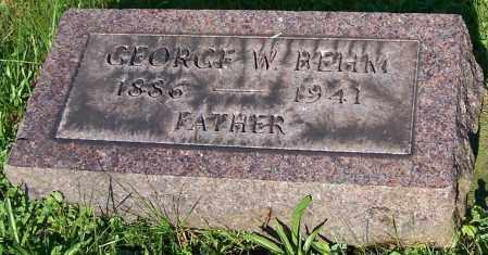 BEHM, GEORGE W. - Stark County, Ohio | GEORGE W. BEHM - Ohio Gravestone Photos
