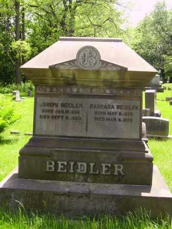 MUMAW BEIDLER, BARBARA - MONUMENT - Stark County, Ohio | BARBARA - MONUMENT MUMAW BEIDLER - Ohio Gravestone Photos