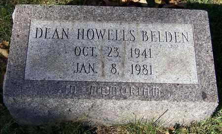 BELDEN, DEAN HOWELLS - Stark County, Ohio | DEAN HOWELLS BELDEN - Ohio Gravestone Photos