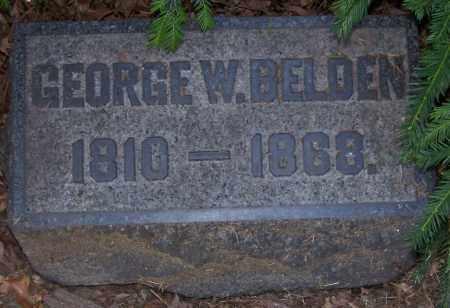 BELDEN, GEORGE W. - Stark County, Ohio | GEORGE W. BELDEN - Ohio Gravestone Photos