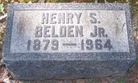 BELDEN, HENRY S. JR. - Stark County, Ohio | HENRY S. JR. BELDEN - Ohio Gravestone Photos