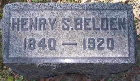 BELDEN, HENRY S. - Stark County, Ohio   HENRY S. BELDEN - Ohio Gravestone Photos