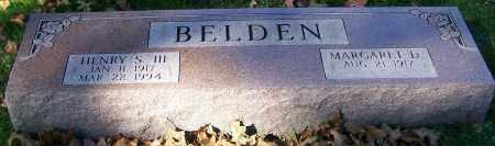 BELDEN, HENRY S. III - Stark County, Ohio   HENRY S. III BELDEN - Ohio Gravestone Photos