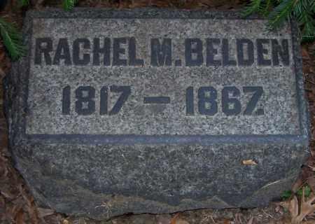 BELDEN, RACHEL M. - Stark County, Ohio   RACHEL M. BELDEN - Ohio Gravestone Photos