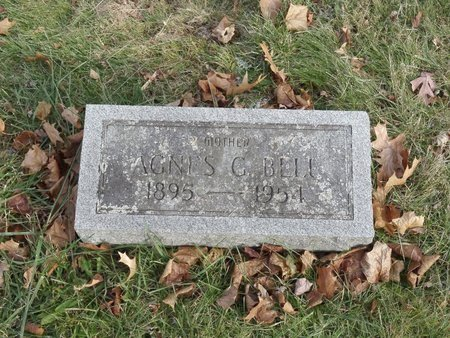 BELL, AGNES G. - Stark County, Ohio | AGNES G. BELL - Ohio Gravestone Photos