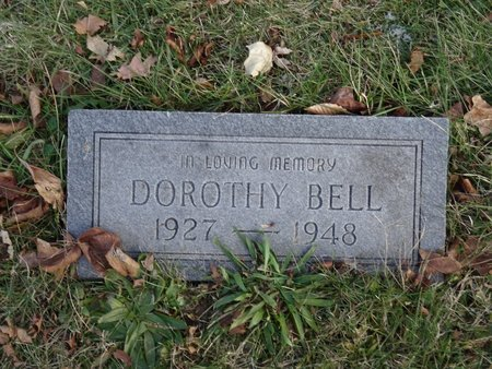 BELL, DOROTHY - Stark County, Ohio | DOROTHY BELL - Ohio Gravestone Photos