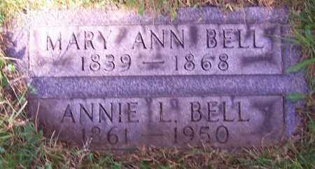 BELL, MARY ANN - Stark County, Ohio | MARY ANN BELL - Ohio Gravestone Photos