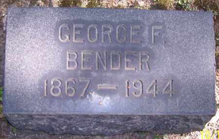 BENDER, GEORGE F. - Stark County, Ohio | GEORGE F. BENDER - Ohio Gravestone Photos