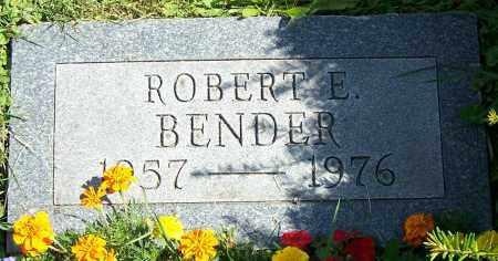BENDER, ROBERT E. - Stark County, Ohio   ROBERT E. BENDER - Ohio Gravestone Photos