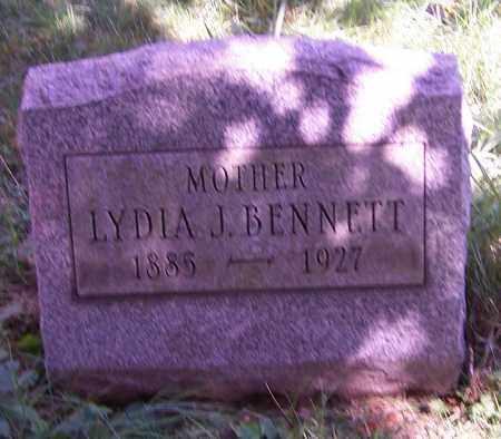 BENNETT, LYDIA J. - Stark County, Ohio | LYDIA J. BENNETT - Ohio Gravestone Photos