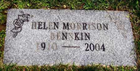 BENSKIN, HELEN - Stark County, Ohio | HELEN BENSKIN - Ohio Gravestone Photos