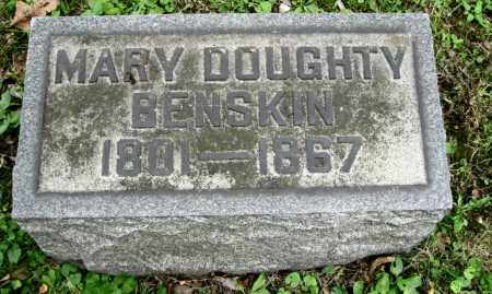 BENSKIN, MARY - Stark County, Ohio | MARY BENSKIN - Ohio Gravestone Photos