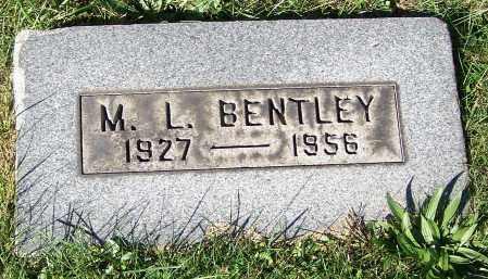 BENTLEY, M.L. - Stark County, Ohio | M.L. BENTLEY - Ohio Gravestone Photos