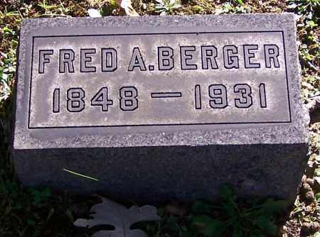 BERGER, FRED A. - Stark County, Ohio | FRED A. BERGER - Ohio Gravestone Photos