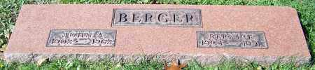 BERGER, JOHN A. - Stark County, Ohio | JOHN A. BERGER - Ohio Gravestone Photos
